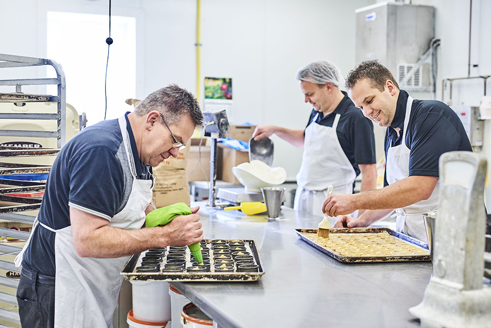 Owners baking